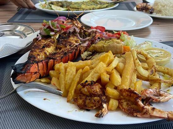 Dinner at Forodhani