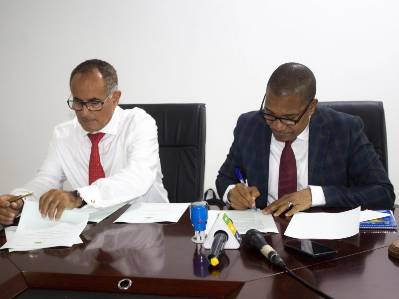 Zanzibar Investment Promotion Authority (ZIPA) has sign the non disclosure agreement with Oman Investment Authority (OIA)
