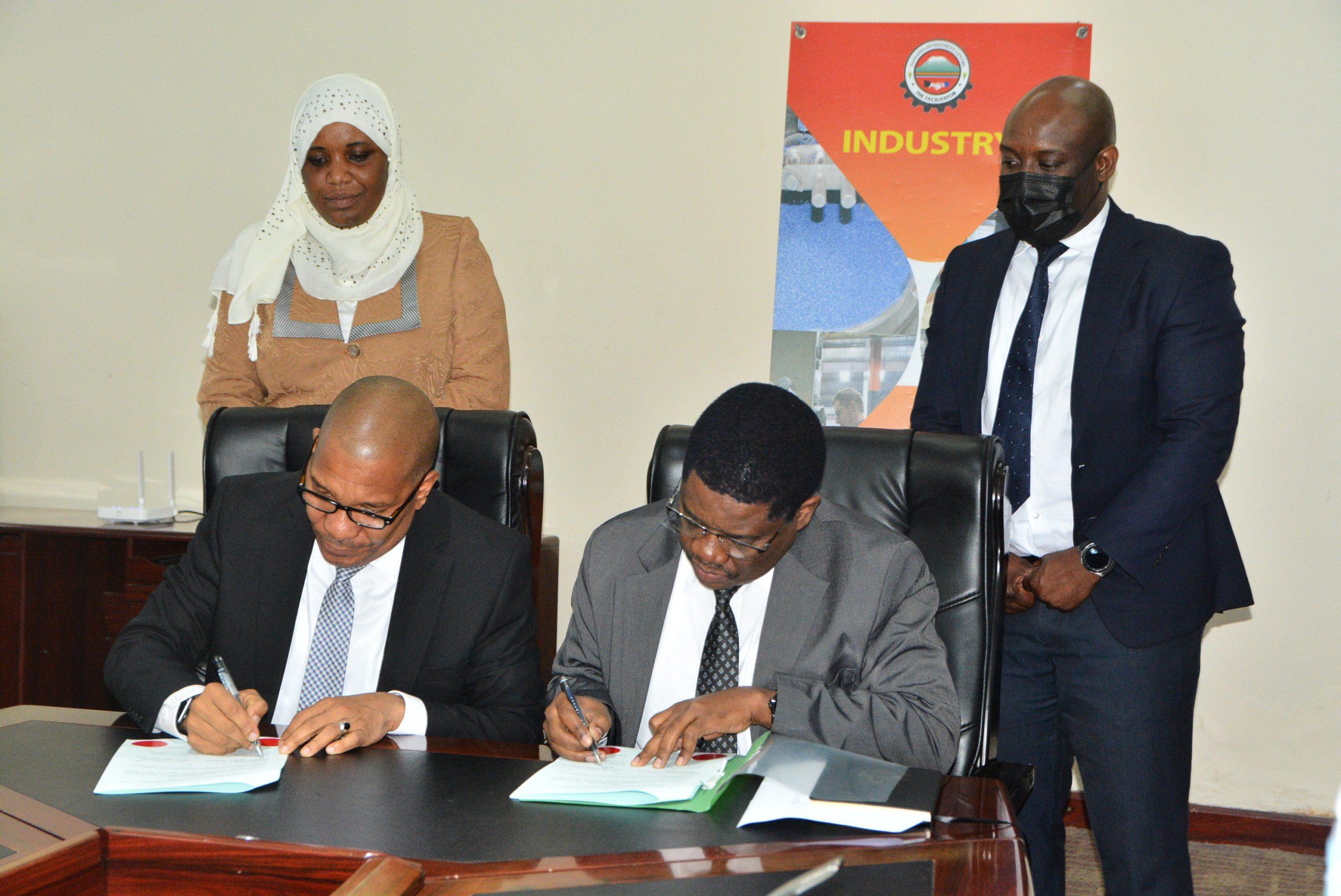 Zanzibar Investment Promotion Authority(ZIPA) has sign the memorandum of understanding (MoU) with Tanzania Investment Center(TIC)